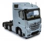 Preview: MarGe Models 1908-03 Mercedes-Benz Actros Streamspace 6x2 silber