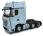 Preview: MarGe Models 1912-03 Mercedes Benz Actros Gigaspace 6x2 silber
