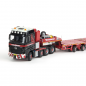 Preview: IMC Models 410089 Mammoet MB Arocs 8x4 + MCO-PX 6 axle with 2 axle multidolly