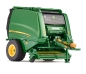 Preview: Wiking 077316 John Deere 990 Rundballenpresse