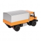 Preview: NZG 9111/65 MERCEDES BENZ UNIMOG U5000 Orange