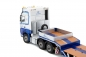 Preview: IMC Models 32-0061 L.A. van den Heuvel Mercedes Benz Actros GigaSpace 6x2 and 3-axle semi low loader with wheel wells