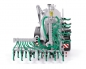 Preview: Wiking 077338 Fliegl VFW 18.000 Profiline / Slurry plow GUG 6m