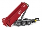 Preview: Wiking 077826 Krampe Hakenlift THL 30 L mit Abrollcontainer Big Body 750