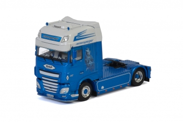 "WSI Models 01-2894 Remensperger DAF XF SUPER SPACE CAB 4x2 ""German Supertrucks"""