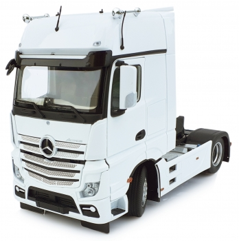 MarGe Models 1911-01 Mercedes Benz Actros Gigaspace 4x2 weiß