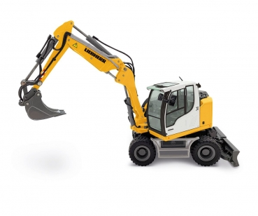 NZG 1000 Liebherr Mobilbagger A 910 Compact Litronic