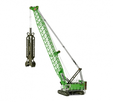 ROS 299242 Sennebogen Duty Cycle Crane 6140 HD with diaphragm wall grab
