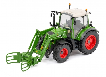 USK Models 10642 Fendt 313 Vario with Frontloader and Bale Grapple