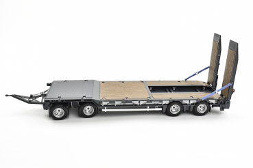 AT-Collection 3200139GY NOOTEBOOM ASDV-40-22 4 AXLE DRAWBAR TRAILER WITH RAMPS anthracite