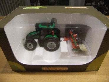 Universal Hobbies 7101 Valtra C Grün with Prosol harrow