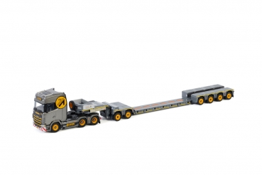 WSI Models 01-3094 Gebri SCANIA S HIGHLINE | CS20H 6X4 LOWLOADER 4 AXLE + DOLLY 2 AXLE