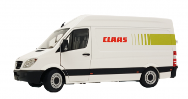 MarGe Models 1905-01-04 Mercedes-Benz Sprinter Claas - white