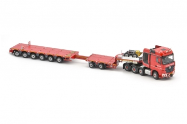 IMC Models 5386866 Nooteboom KNT Red Line MB 8x4 - MCOPX 2+6 axle