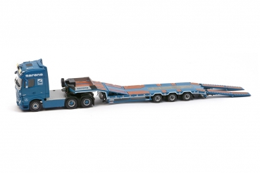 IMC Models 20-1036 Sarens Mercedes Actros2 GigaSpace 6x4 with EuroFlex 3axle semi low loader