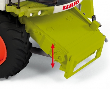 Wiking 077817 Claas Tucano 570 combine with V 930 grain mower attachment