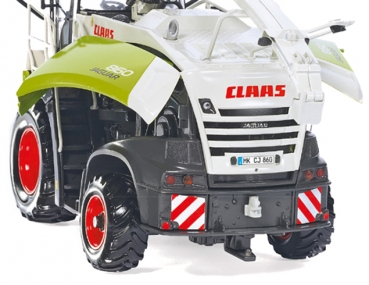 Wiking 077812 Claas Jaguar 860 forage harv. with Orbis 750/pick-up 300