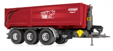 Wiking 077826 Krampe Hakenlift THL 30 L mit Abrollcontainer Big Body 750
