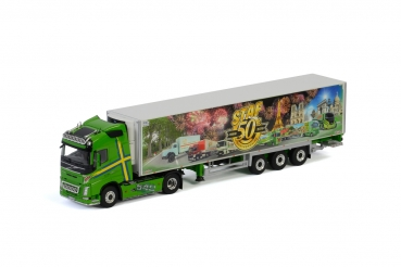WSI Models 01-3032 Staf Transports VOLVO FH4 GLOBETROTTER 4X2 REEFER TRAILER - 3 AXLE