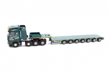 IMC Models 33-0100 STL Mercedes Benz Actros Gigaspace 8x4 with Nooteboom MCO121-07V