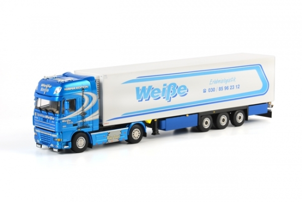 "WSI Models 01-1174 DAF XF 105 Super Space Cab Reefer Trailer Thermoking (3 axle) ""Spedition Weiße Berlin"""