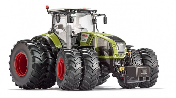 Wiking 077328 Claas Axion 950 with twin tyres