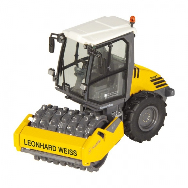 "NZG 9481/01 HAMM H7i ""Leonhard Weiss"" Compactor with pad foot"