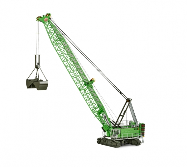 ROS 299241 Sennebogen Duty Cycle Crane 6140 HD with clamshell