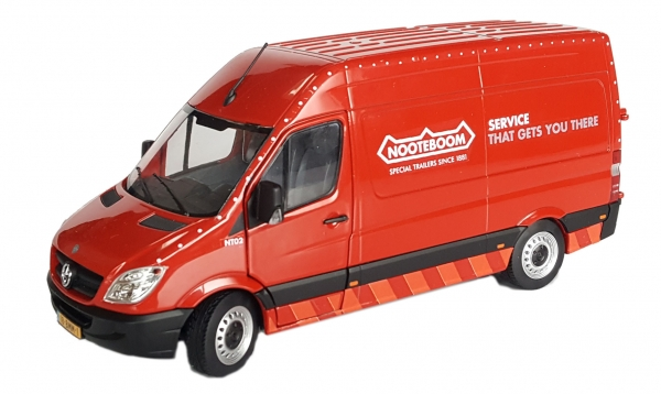 MarGe Models 1905-04-01 Mercedes-Benz Sprinter Nooteboom