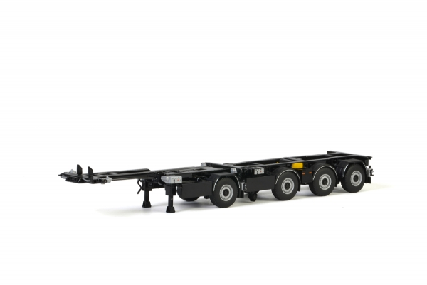 WSI Models 03-2020 White Line BROSHUIS 2CONNECT COMBI TRAILER 1+3 AXLE