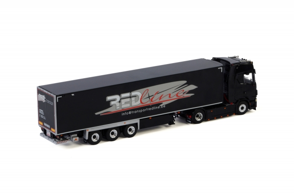 WSI Models 01-3019 Bvba Red Line SCANIA S HIGHLINE | CS20H 4X2 REEFER TRAILER - 3 AXLE