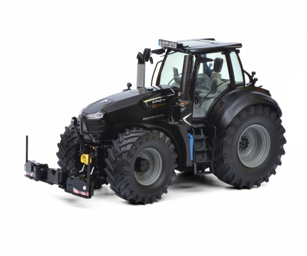 Schuco 450777600 Deutz-Fahr 9340 TTV Black Warrior with AgriBumper
