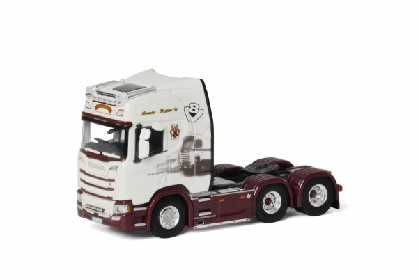 WSI Models 01-2668 Geary Livestock SCANIA R HIGHLINE | CR20H 6x2 TAG AXLE