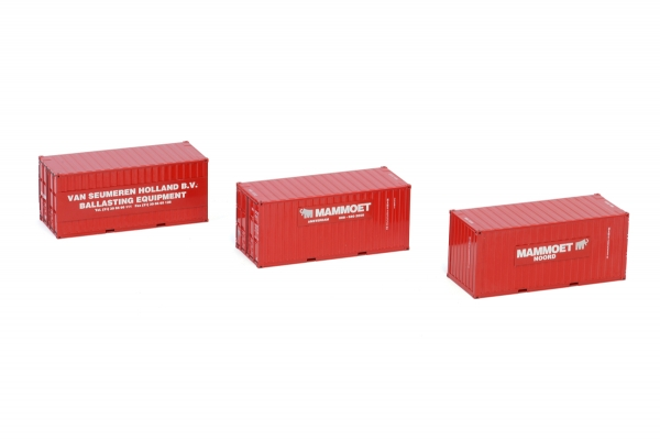 WSI Models 410251 Mammoet 20 FT CONTAINER