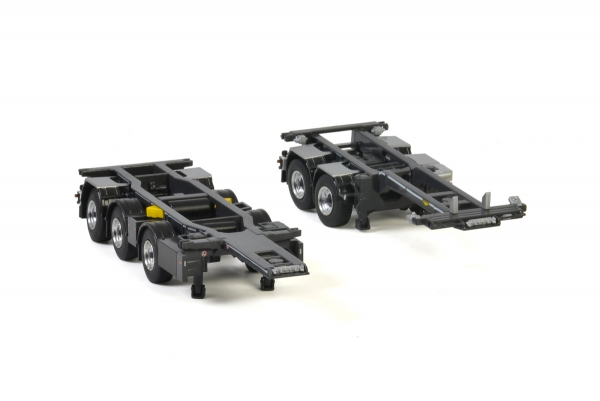 WSI Models 04-2072 Premium Line BROSHUIS 2CONNECT COMBI TRAILER 2+3 AXLE
